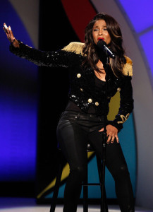 Ciara performs onstage during the 2009 BET Awards held at the Shrine Auditorium on June 28th 2009 in Los Angeles 2