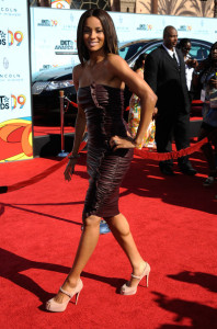 Ciara arrives at the 2009 BET Awards held at the Shrine Auditorium on June 28th 2009 in Los Angeles 2