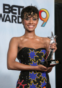 Keri Hilson at the press room during the 2009 BET Awards held at the Shrine Auditorium on June 28 2009 in Los Angeles  3