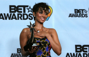Keri Hilson at the press room during the 2009 BET Awards held at the Shrine Auditorium on June 28 2009 in Los Angeles  4
