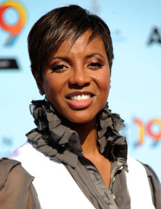 MC Lyte arrives at the 2009 BET Awards held at the Shrine Auditorium on June 28th 2009 in Los Angeles