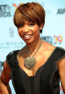 Elise Neal arrives at the 2009 BET Awards held at the Shrine Auditorium on June 28th 2009 in Los Angeles