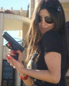 Haifa Wehbe sister Rola Wehbe pictures 6