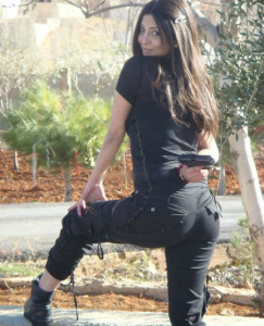 Haifa Wehbe sister Rola Wehbe pictures 1