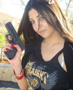 Haifa Wehbe sister Rola Wehbe pictures 2