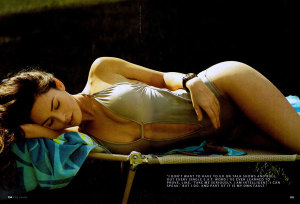 Megan Fox photo in a May 2009 magazine issue modeling for swimsuits 1