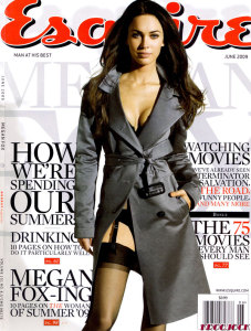 Megan Fox photo in a May 2009 magazine issue 1