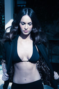 Megan Fox pictures on the cover of the British GQ magazine of June 2009 12