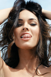 Megan Fox pictures on the cover of the British GQ magazine of June 2009 2