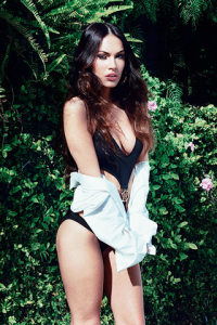 Megan Fox pictures on the cover of the British GQ magazine of June 2009 3