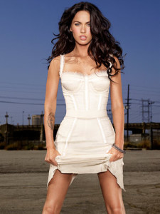 actress Megan Fox on the cover of Entertainment Weekly magazine issue of july 2009 7