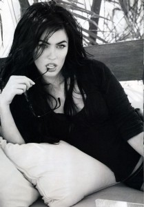 actress Megan Fox photo from Total Film in July 2009 2
