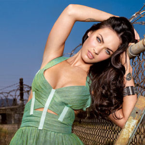 actress Megan Fox on the cover of Entertainment Weekly magazine issue of july 2009 5