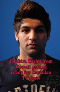 Ibrahim Dashti prepairing for ramadan tv program in Ramadan August 2009 5