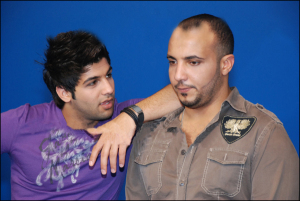 Ibrahim Dashti prepairing for ramadan tv program in Ramadan August 2009 2