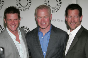 James Denton with Doug Savant and Neal McDonough at the Desperate Housewives event at PaleyFest09 at ArcLight Cinemas on April 18th 2009 in Hollywood