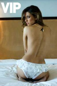 Krishna Siqueira photoshoot from the VIP Magazine 2009 issue topless picture 2