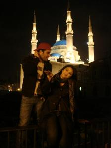 Dyaa Al Tayyeb photo from her visit to lebanon with her best friend during star academy days Saed Ramadan