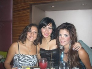 Mirhan Hussein photo with Amal Mahallawy