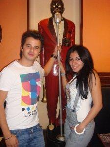 Nader Quirrat photo with Mirhan Hussein