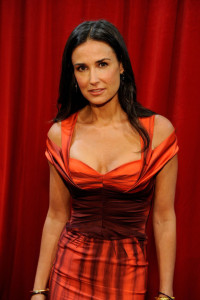 Demi Moore poses backstage during the 17th Annual ESPY Awards