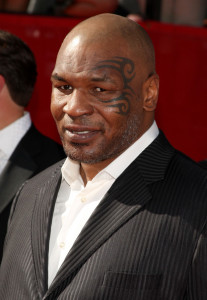 Mike Tyson arrives at the 17th Annual ESPY Awards