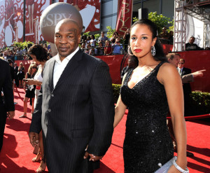 Mike Tyson and wife Lakiha Spicer at the 17th Annual ESPY Awards