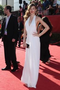 Miranda Kerr arrives at the 17th Annual ESPY Awards