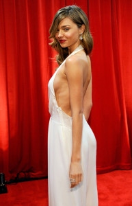 Miranda Kerr poses backstage at the 17th Annual ESPY Awards