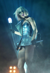 Lady GaGa performs at a concert in Munich  Germany in July 2009 7
