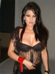 Haifa exclusive photo backstage candid at one of her concerts
