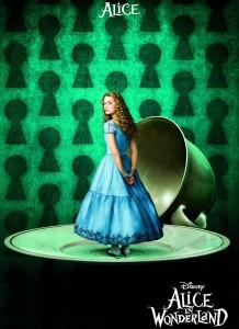 Alice in wonderland promo movie poster