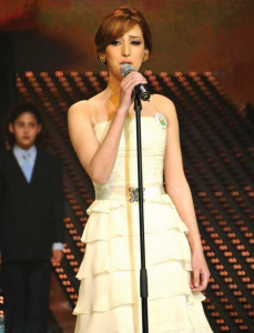 pictures from the star academy 14th Prime on May 22nd 2009 of Basma Boussil 29