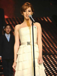 pictures from the star academy 14th Prime on May 22nd 2009 of Basma Boussil 28