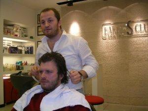 Kivanc Tatlitug photos spotted at his personal hair salon