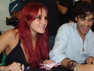 dulca maria photos at the Cast de Verano de Amor autographs in Mexico on July 4th 2009 8