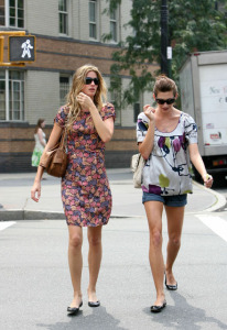 jill mccormick spotted with Gisele Bundchen in New York City on July 20th 2007 1