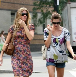 jill mccormick spotted with Gisele Bundchen in New York City on July 20th 2007 4