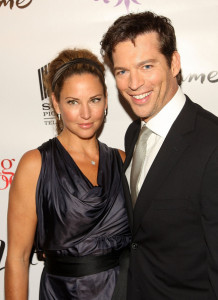 Jill Goodacre and her husband Harry Connick Jr on the red carpet of the Living Proof New York premiere at Paris Theatre in New York City on Septmeber 24th 2008 4