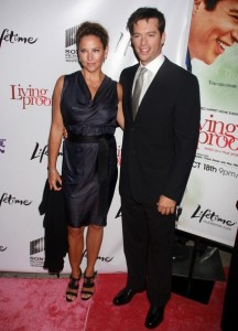 Jill Goodacre and her husband Harry Connick Jr on the red carpet of the Living Proof New York premiere at Paris Theatre in New York City on Septmeber 24th 2008 5