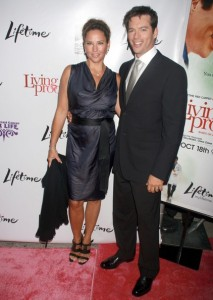 Jill Goodacre and her husband Harry Connick Jr on the red carpet of the Living Proof New York premiere at Paris Theatre in New York City on Septmeber 24th 2008 2