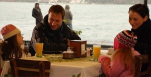 Sinan Sumer pictures and Ece Uslu from the Turkish Series Elveda derken 8