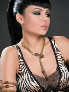 Haifa Wehbe hair style photoshoot 1
