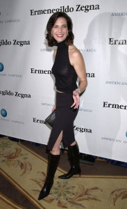 Terry Farrell photo attending the American Oceans Campaign 2001 Partners Award held at the Century Plaza Hotel in Los Angeles California on October 2nd 2001 8