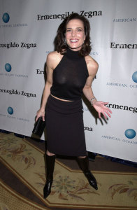 Terry Farrell photo attending the American Oceans Campaign 2001 Partners Award held at the Century Plaza Hotel in Los Angeles California on October 2nd 2001 9