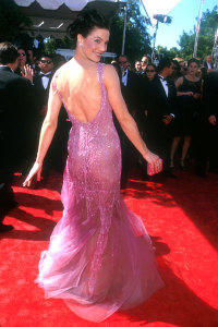 Terry Farrell picture at the 51st Annual Emmy Awards held at the Shrine Auditorium in Los Angeles California on September 12th 1999 2