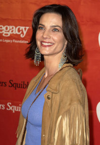 Terry Farrell picture as she arrives at the 1st Annual Entertainment Industry Foundation Love Rocks Concert to Honor Bono from U2 held at the Kodak Theatre in Hollywood on February 14th 2002 5