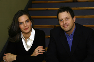 Terry Farrell picture with Brian Baker 3