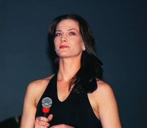 Terry Farrell picture attends the Star Trek Grand Slam 8 Pasadena Convention Center in March 2000 1