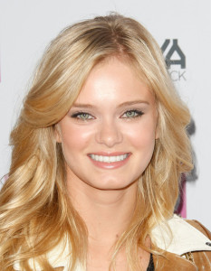 Sara Paxton face closeup picture at the premiere of Anchor Bay Films ( Spread ) held at ArcLight Hollywood on August 3rd, 2009